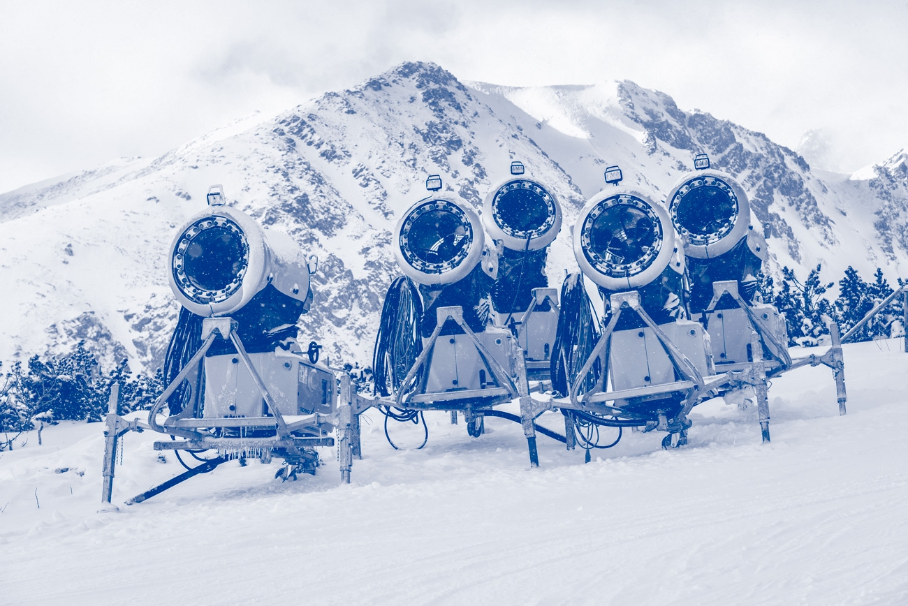 use of the mechanical seals on pumps for snow cannons