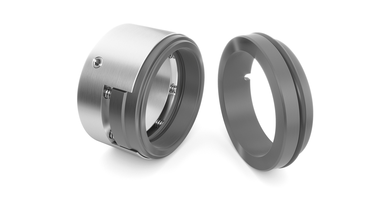 Multiple spring mechanical seal series DR1-S, balanced and unbalanced, with various types of bonded materials