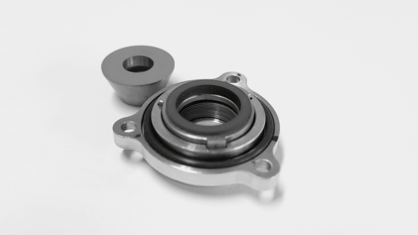 the mechanical seal designed in partnership with Leonardo spa